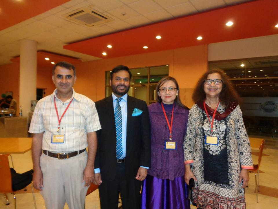 First CIIT International Spring School on Computational Materials Research & Education, March 2015 - Islamabad, Pakistan, Talat's Rahman and former students: Islamudin, Altaf and Marisol