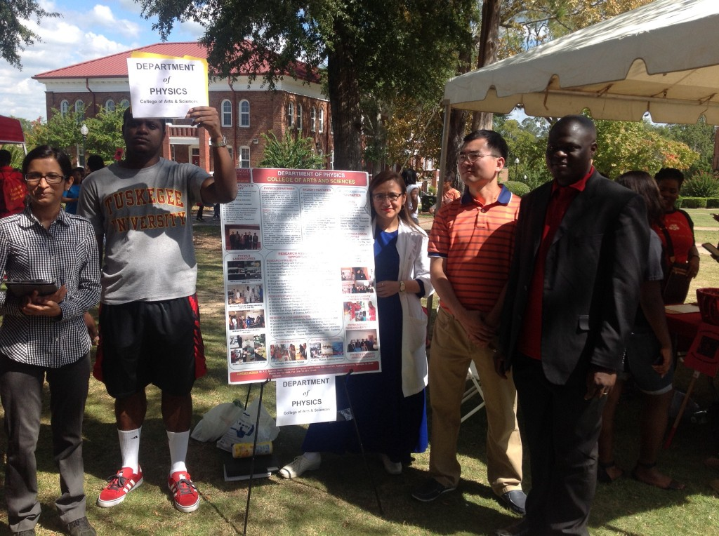 Tuskegee University, Physics Department, Open House, Fall 2015